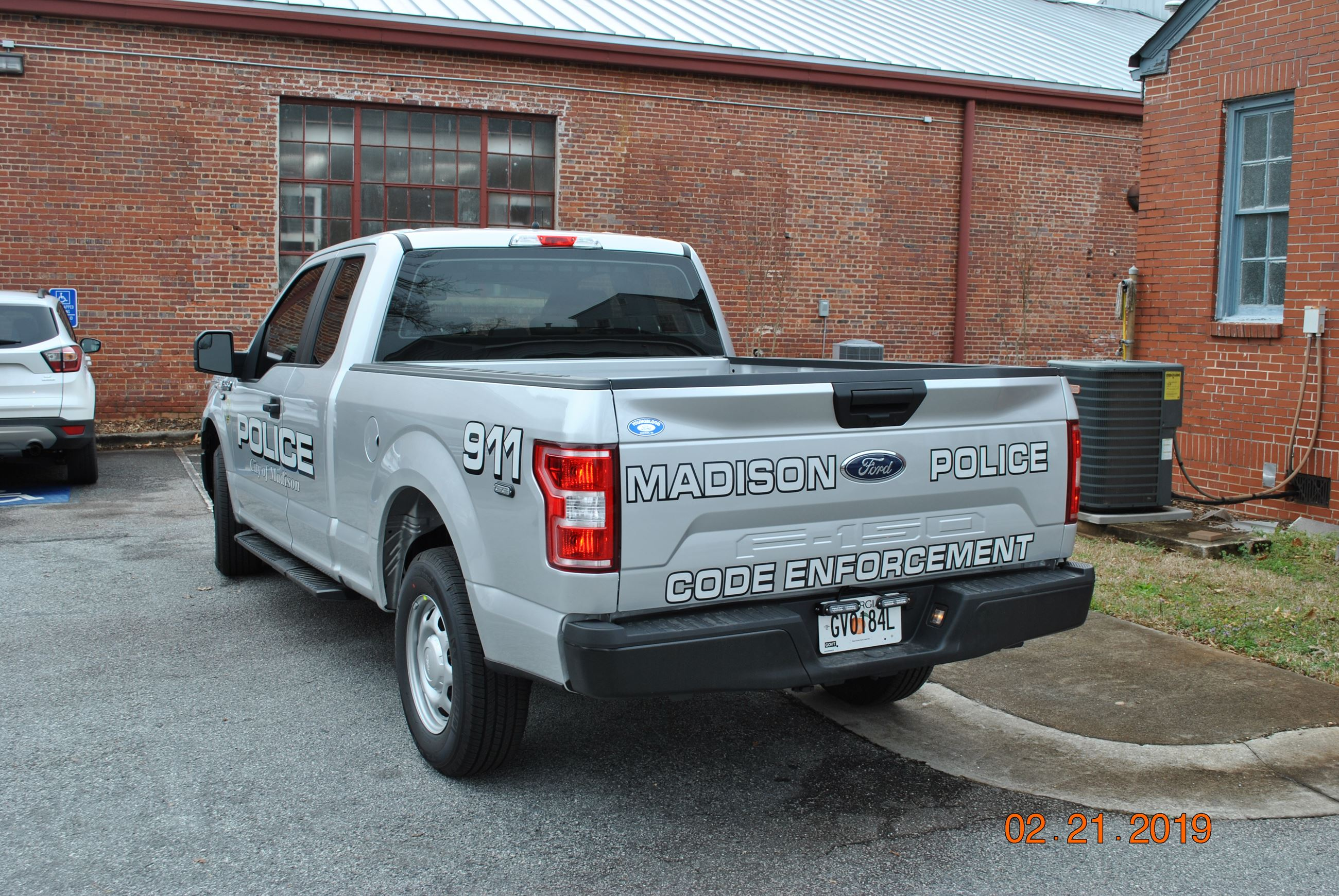 Code Enforcement Truck